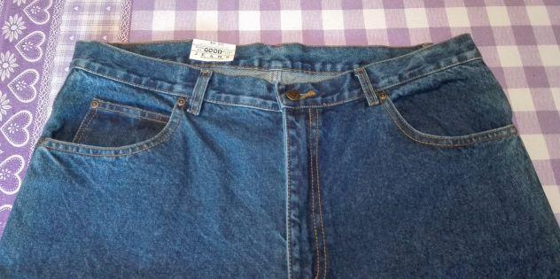 Taglia 54, Nuovi Pantaloni Jeans da Uomo