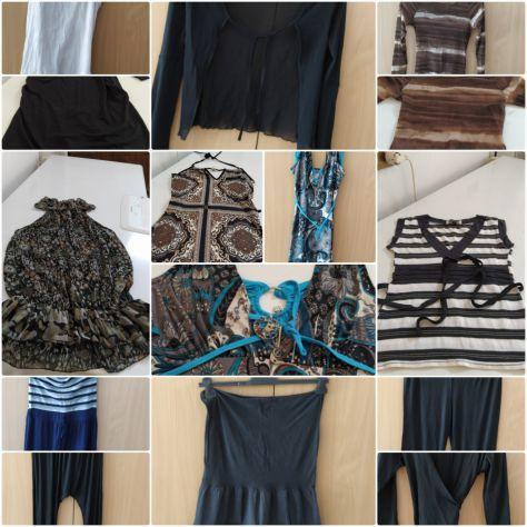 Abbigliamento femminile: minigonne, vestiti, top, giacche, scamiciati, magliette