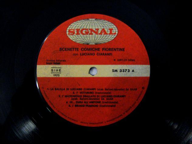 Vinile 33 giri originale del 1970-Scenette comiche fiorentine - Foto 3