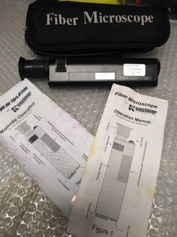 FIberscope x fibra ottica-Westover FM-C400 PROFESSIONALE - Foto 3