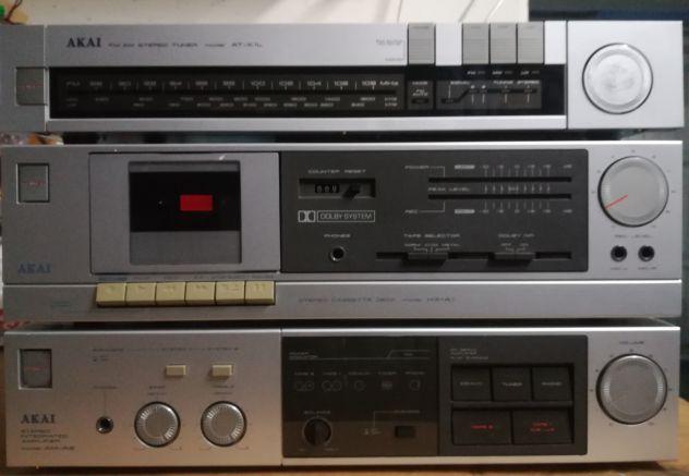 Stereo Akai PERFETTAMENTE funzionante anni 80'