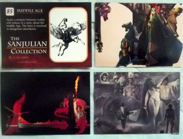 990 CARD FINAL FANTASY+ FPG+ THE SANJULIAN COLLECTION. - Foto 3