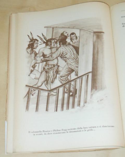Il giro del mondo in ottanta giorni, Jules Verne, EDITRICE CAROCCIO MILANO 1951. - Foto 4