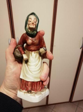 Statue di porcellana vintage anni 70- 80