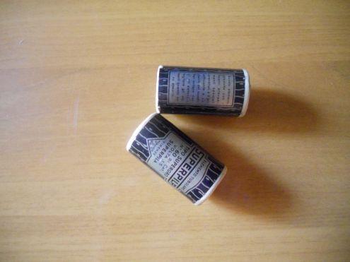 Vecchie batterie.