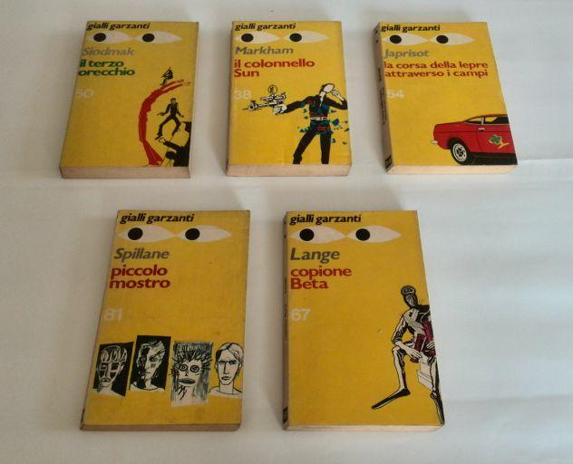 Libri gialli o romanzi vintage