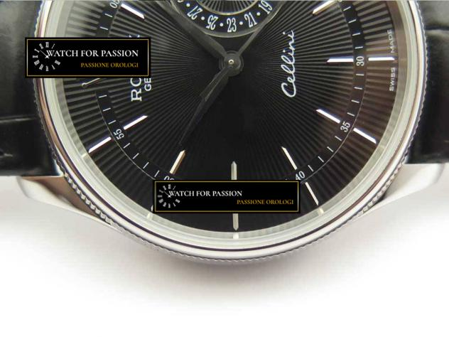 REPLICA ROLEX CELLINI REAL DATE  BEST EDITION QUADRANTE NERO E LANCETTE NER …