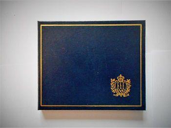 Rep. Di San Marino-Moneta argento Lire 1000-Leone Tolstoj-anno 1978