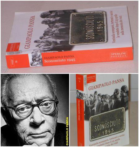 SCONOSCIUTO 1945, GIAMPAOLO PANSA, SPERLING PAPERBACK 2007.