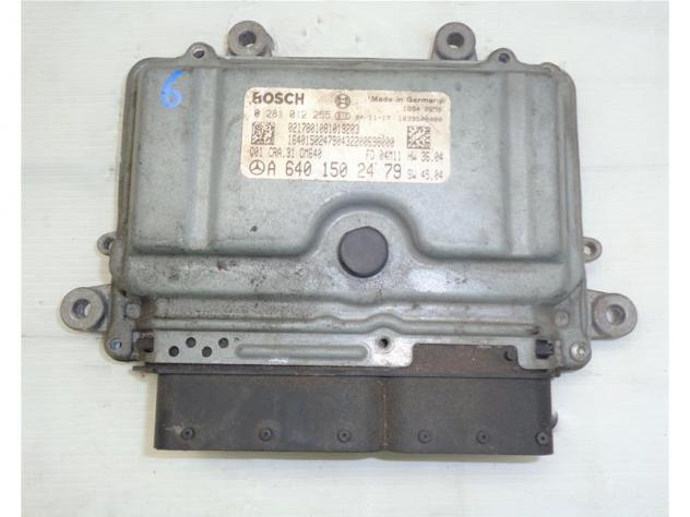 0281012255 CENTRALINA MOTORE ECU MERCEDES-BENZ CLASSE A (W169) 2.0 CDI 16V  …