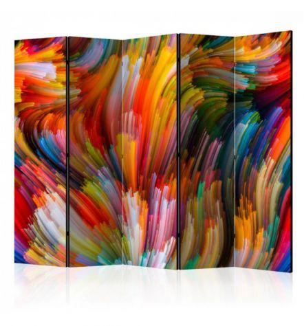 Paravento Multicolore ARREDALACASA N.1 Con 5 Ante