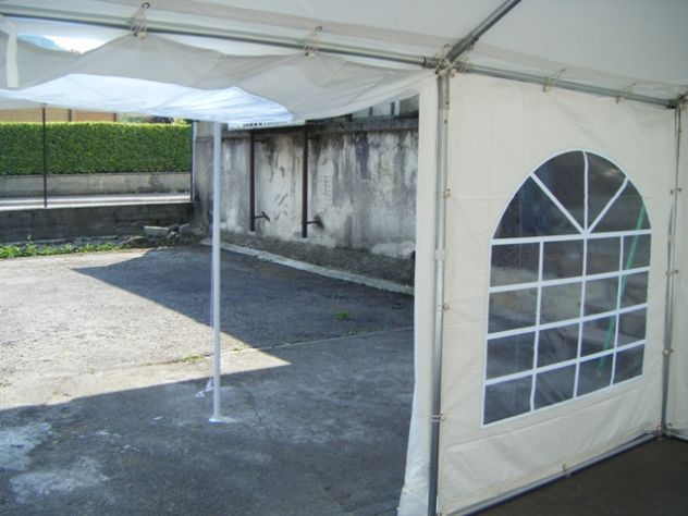 TENDONI GAZEBO 3 X 3 IN PVC GOLD QUALITY 550 GR. MQ. MM ITALIA - Foto 3