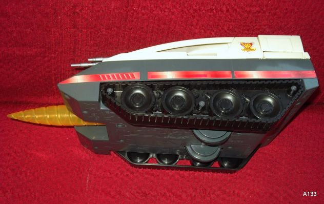 RARA VINTAGE SABAN VR TROOPERS BATTLE CRUISER 1995 BY KENNER - Foto 3