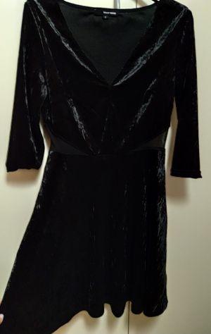 Vestitino Tally Weijl in ciniglia nero taglia s prezzo trattabile