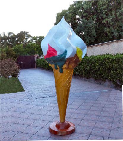 Cono gelato in vetroresina a BENEVENTO - Foto 2