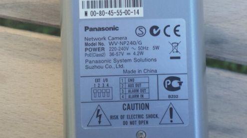 videocamera PANASONIC IP WV-NP240 - Foto 2
