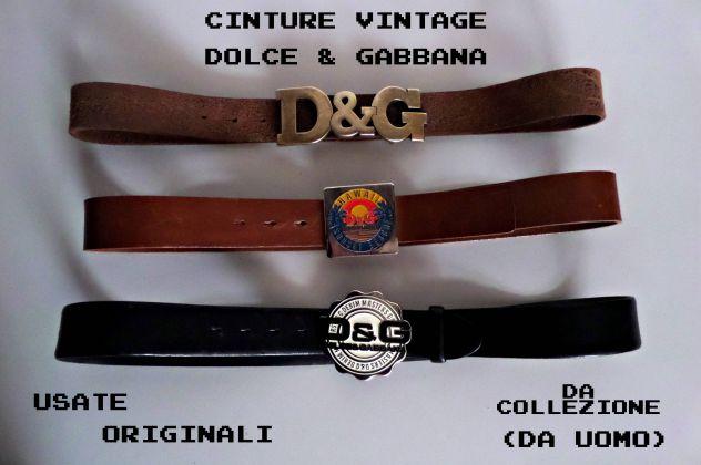 negozio ufficiale alta qualità il prezzo rimane stabile Cinture vintage Dolce & Gabbana (D&G) Originali (da collezione)