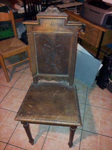Sedie n 2 antiche