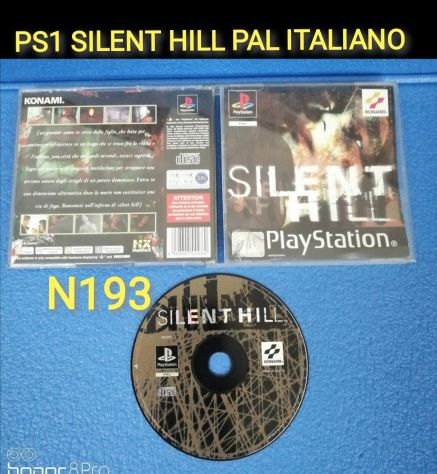 PS1 Silent Hill lotto PS1 PS2 PS3 PAL Edizione Italiana RARO Originale