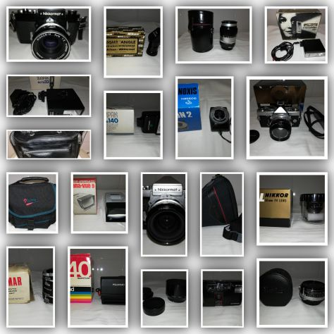 Nikon nikkormat ed accessori