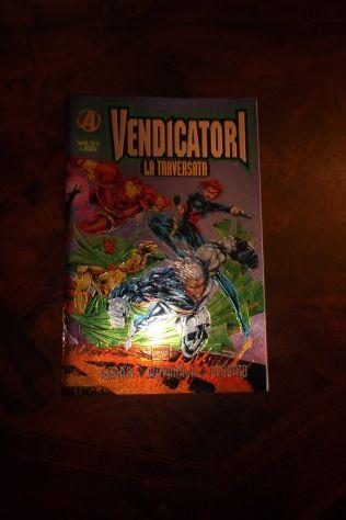 Marvel top 10:vendicatori-la traversata(marvel italia,1996)
