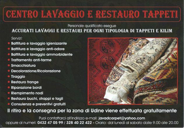 Pulizia tappeti Trieste, lavaggio e restauro tappeti persiani Trieste - Foto 6