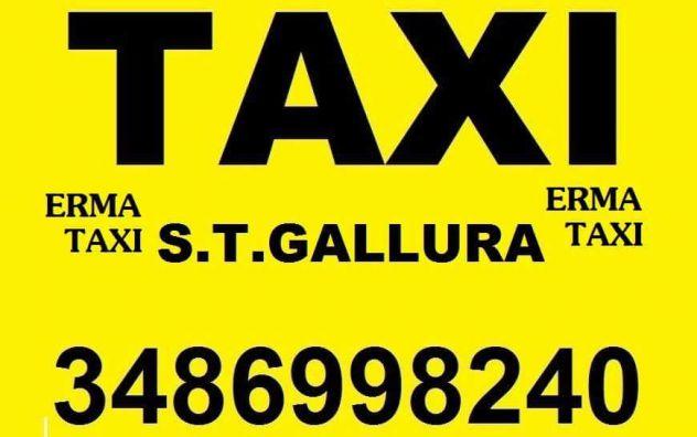 Servizio taxi e transfer ERMA TAXI