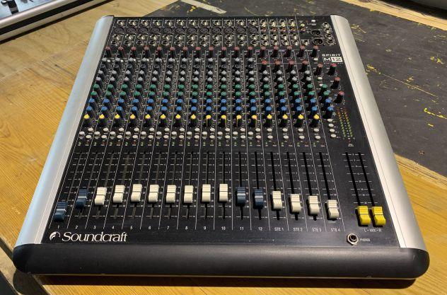 Mixer Audio Soundcraft