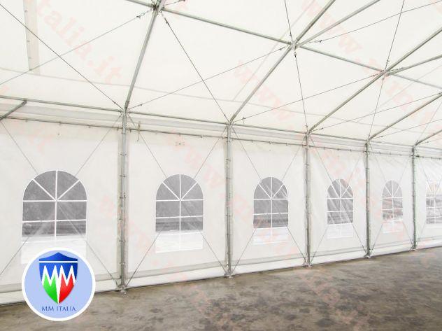 Tendoni 8 x 12 linea Impero qualitá Estrema per feste magazzino deposito - Foto 8