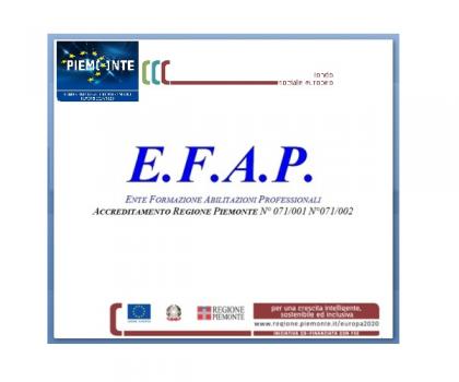 E.F.A.P. - corsi di formazione