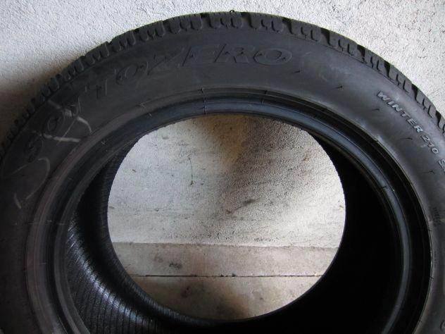 4 pneumatici invernali 225/50 R17 M+S - Foto 2