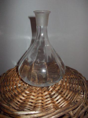 Bottiglia vetro cristallo