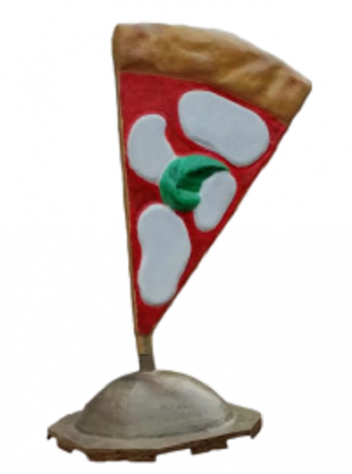 Fiberglass sign for pizzeria, sailing sign
