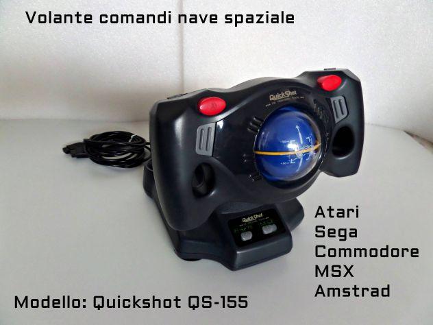 Volante Aereospaziale Quickshot QS-155 anni 80 Commodore, Atari, Amiga
