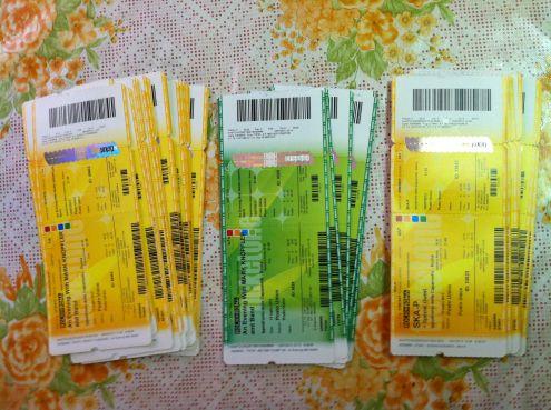 Biglietti Concerti Rock Passati Unused e Non, Da Collezione! - Foto 2