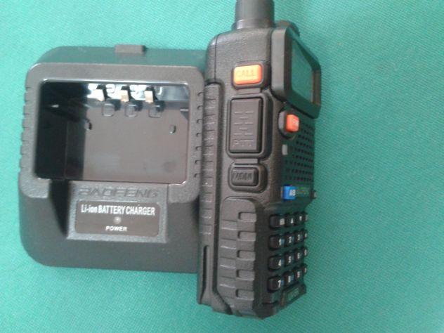 RADIO RICETRASMITTENTE DUAL BAND BAOFENG UV-5R VHF UHF - Foto 6