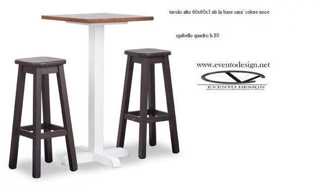 Sgabelli sedie tavoli in legno massello nuovi per pub annunci savona