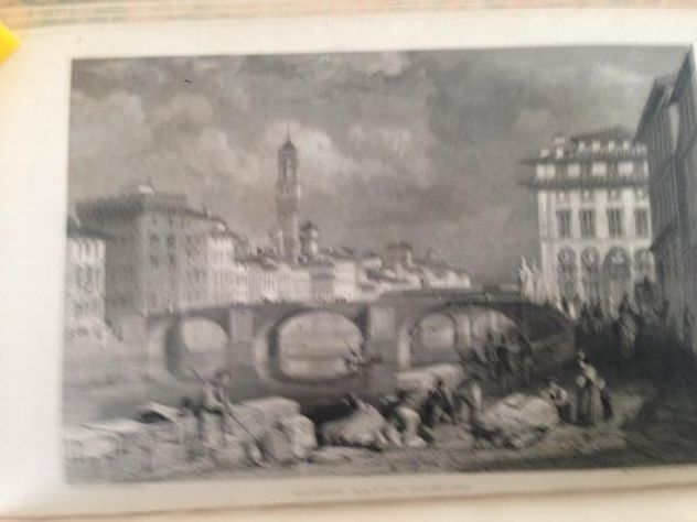 THOMAS ROSCOE THE TOURIST IN ITALY. LANDSCAPE ANNUAL 1832 - Foto 8