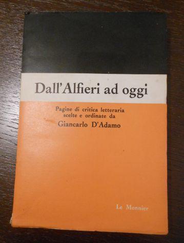 Dall'Alfieri ad oggi, GIANCARLO D'ADAMO, LE MONNIER FIRENZE Aprile 1964. - Foto 2
