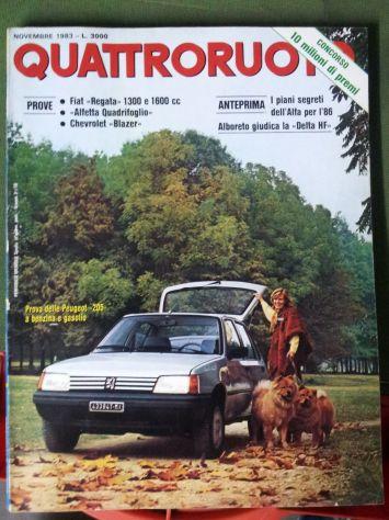Riviste QuattroRuote 1980 - 81 - 82 - 83 - 84 - 86 - Foto 5