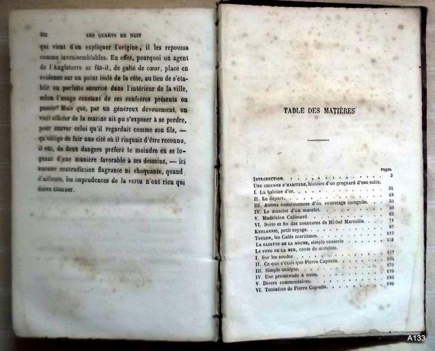 G. DE LA LANDELLE 1872: QUARTS DE NUIT. - Foto 4