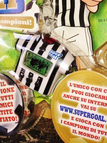 2005 Super Goal Forza Juventus Allena i Tuoi Campioni videogioco handheld calcio