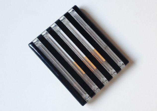 Porta sigarette vintage. Modernariato di design.