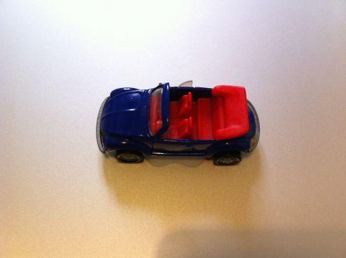 Modellino VW Beetle - Maggiolone cabrio