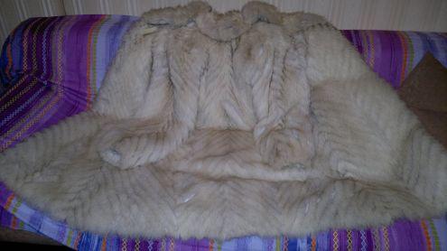 Pelliccia lunga volpe