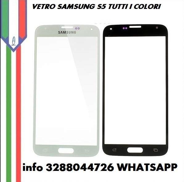 Lcd samsung s5 g900f vetro touch per tutti i colori - Foto 3