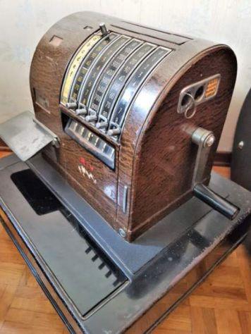 REGISTRATORE DI CASSA RIV Torino anni 30/40, Vintage - Foto 4