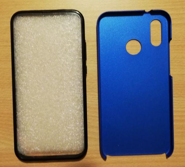 Doppia Cover Huawei P20 Lite (Retro Blu)