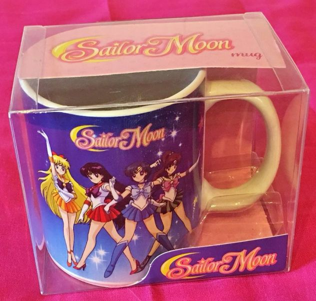 Sailor moon mug tazza abystyle toei animation bandai da collezione cosplay anime