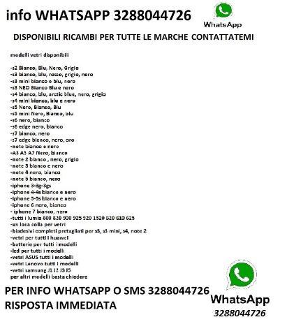 VETRO SAMSUNG S3 S4 S5 S6 J3 A1A3 NOTE 2 3NEO 4 5 Nuovo Euro 5